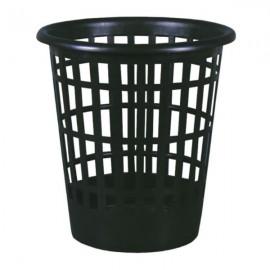 Корзина для мусора черная пластиковая