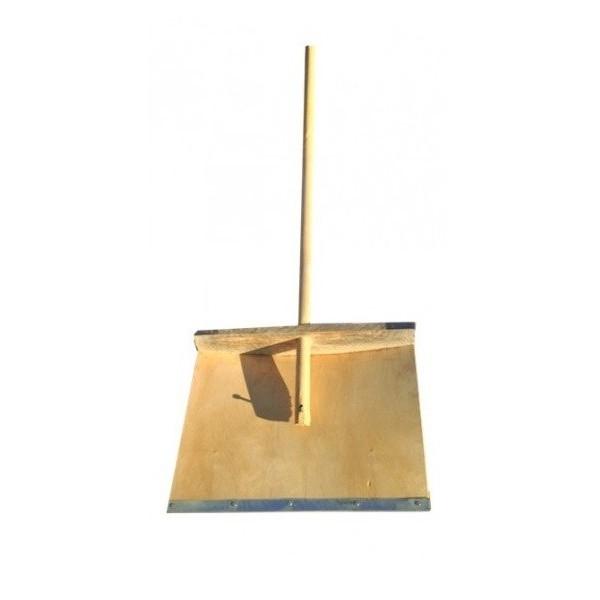 Лопата снеговая 500*380 мм деревянная
