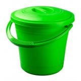 Ведро пластиковое (пищевое) с крышкой 10 литров