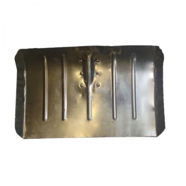 Лопата снеговая тротуарная алюминиевая 500*330*1,5 мм без черенка
