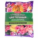 Грунт готовый цветочный «Агроном» 10л