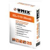 Клей монтажный для газосиликатных блоков UMIX KL-110 Block