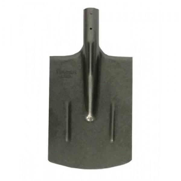 Лопата прямоугольная рельсовая сталь с черенком