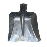 Лопата снеговая ЛС-9 380х380 алюм. без планки с ребрами жесткости