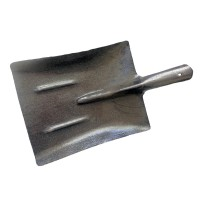 Лопата совковая песочная рельсовая сталь 2.1 мм