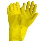 Перчатки резиновые хозяйственные с напылением
