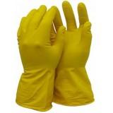Перчатки резиновые хозяйственные без напыления